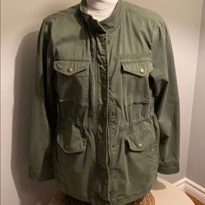 Army green Gap utility coat